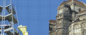 Ponteggio per cattedrale