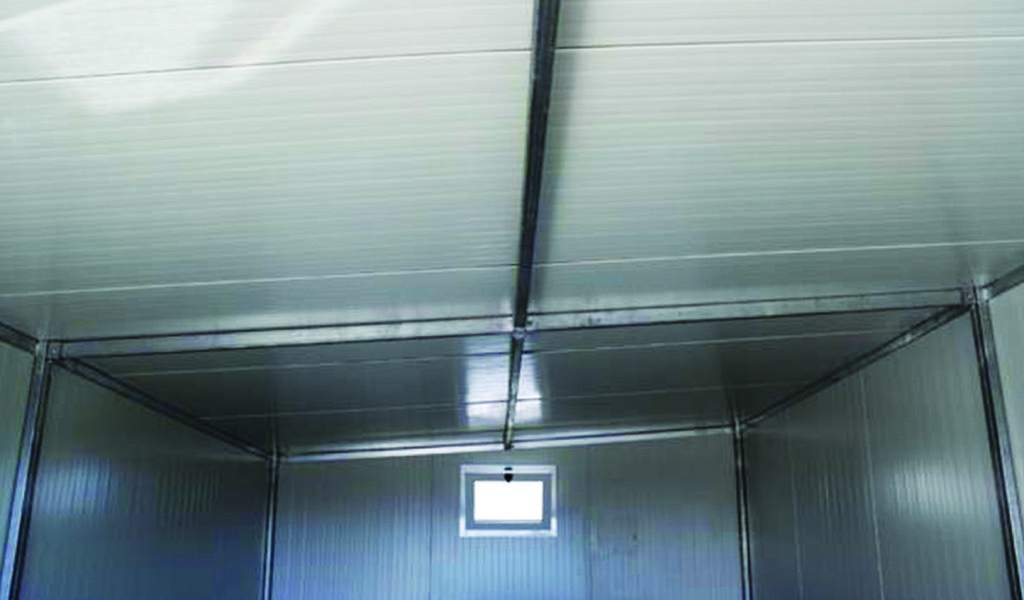 garage prefabbricato deposito in metallo coibentato