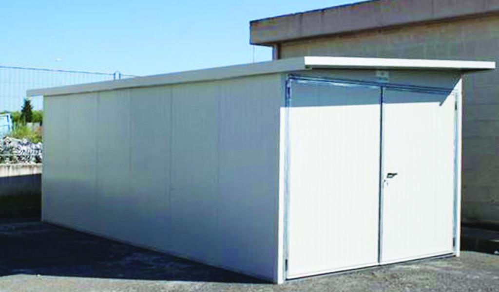 box garage prefabbricato deposito