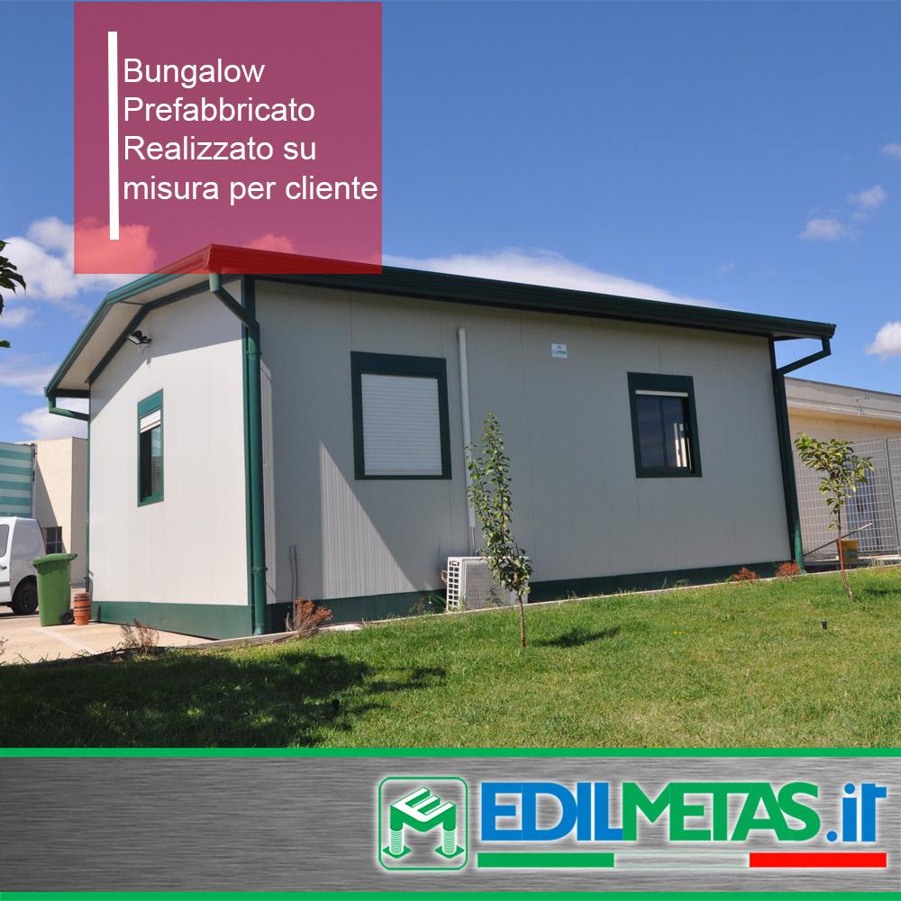 Bungalow prefabbricato uso abitativo o ufficio, ideale per campeggio