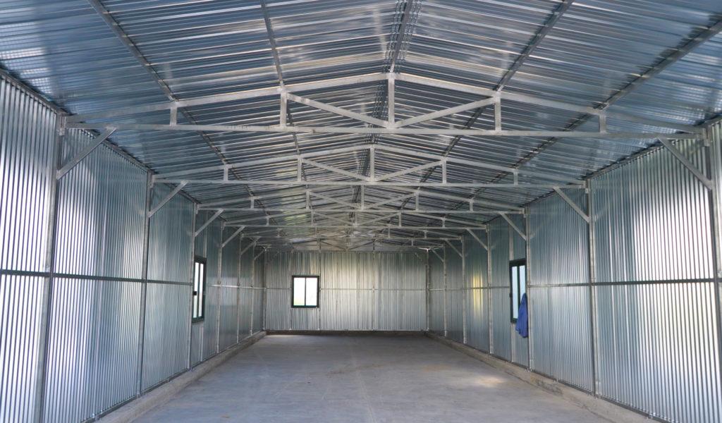capannone struttura prefabbricata