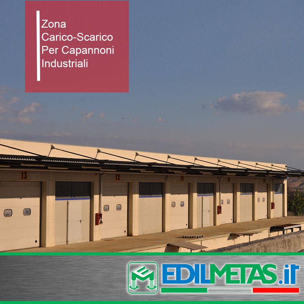 zona carico-scarico merci per capannone industriali