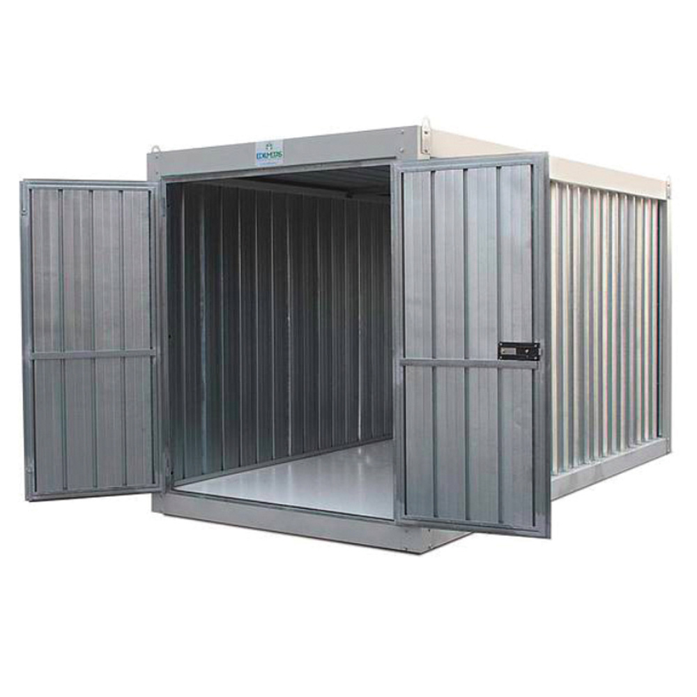 Container box in lamiera edilmetas s r l edilizia for Case container 974