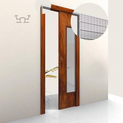 Controtelaio porta scorrevole sesamo edilmetas s r l - Porta scorrevole a scomparsa ...