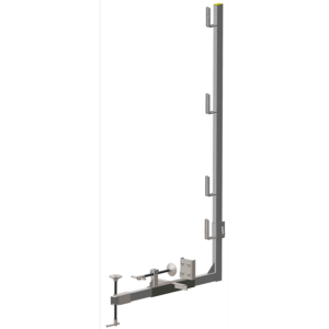 Morsetto parapetto zincato per cordolo apertura 5-50cm