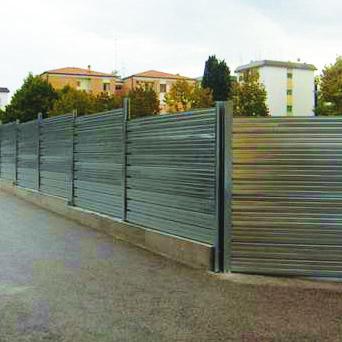 recinzione in lamiera