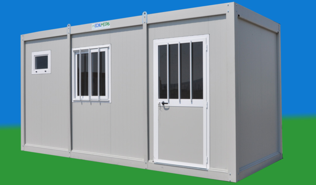Modular prefab office container box flat pack prefabricated metal ...