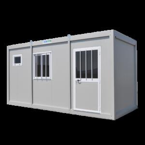 monoblocco coibentato box container prefabbricato