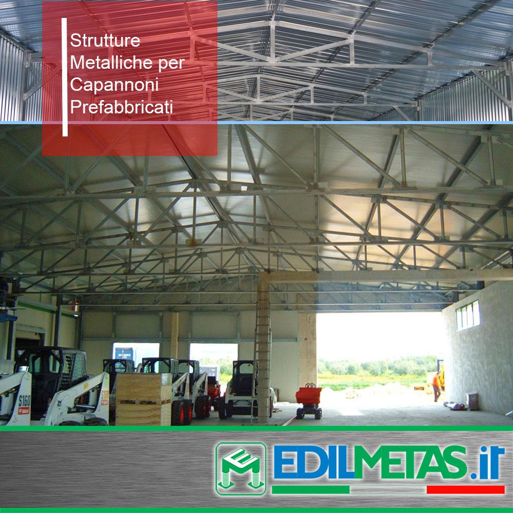 Strutture metalliche per capannoni prefabricati