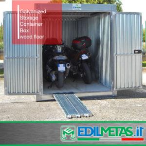 galvanised storage container box