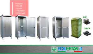 Chemical and on site prefabricated toilet