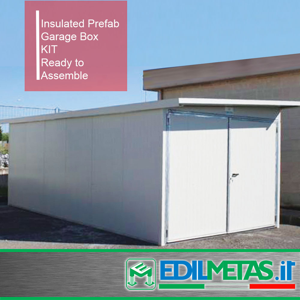 prefabricated office garage