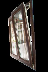 finestra in legno alluminio su misura