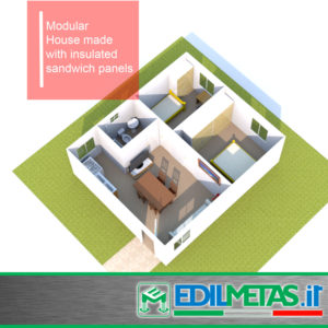 Modular Buildings houses in container