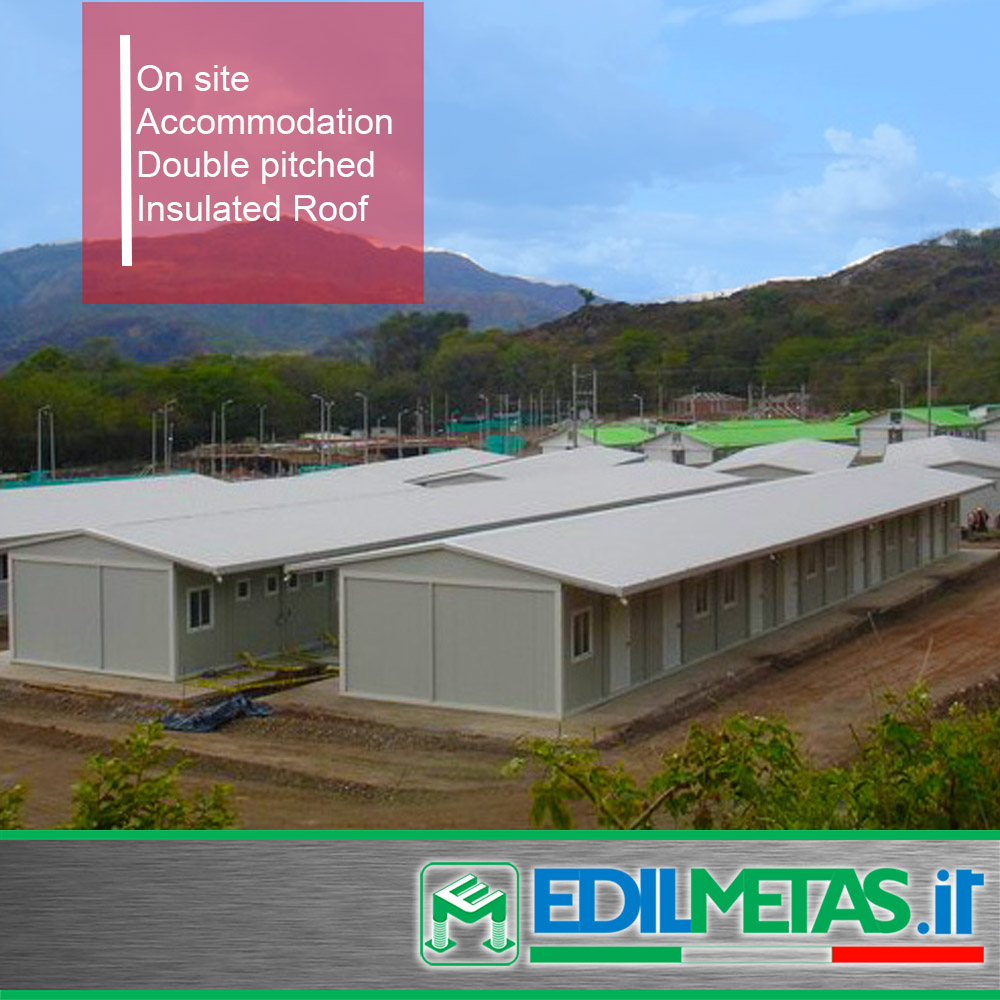 On site Accommodation dormitory