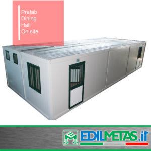 prefabricated dining hall