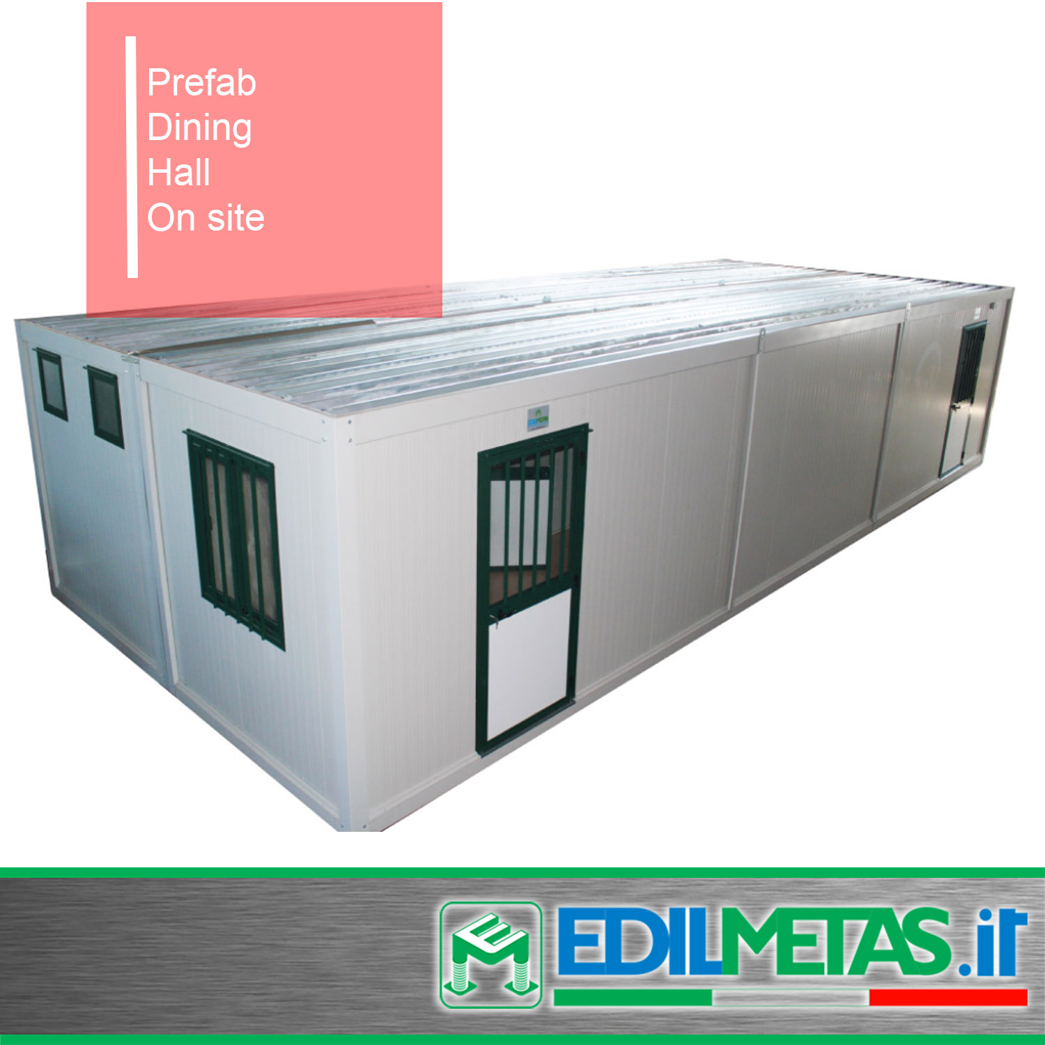prefabricated dining hall