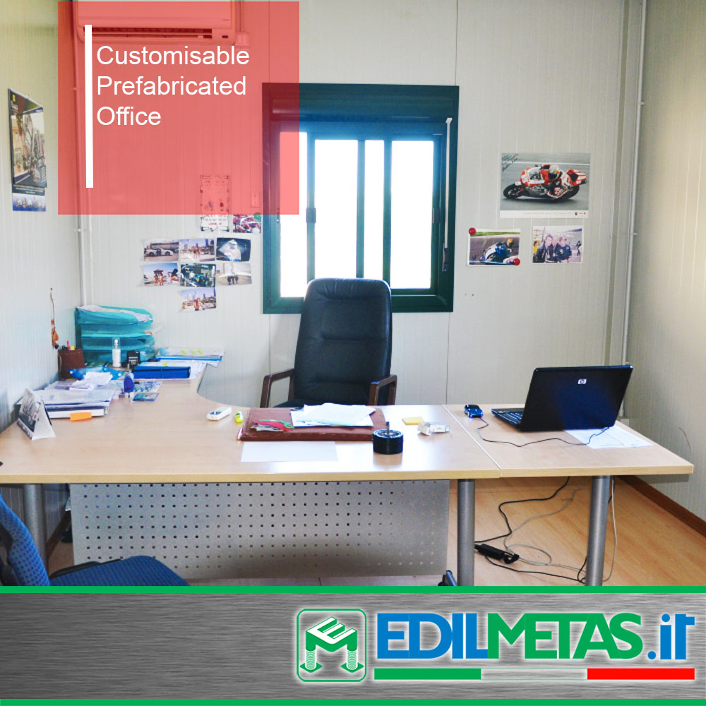 Customisable Prefabricated Portable Office