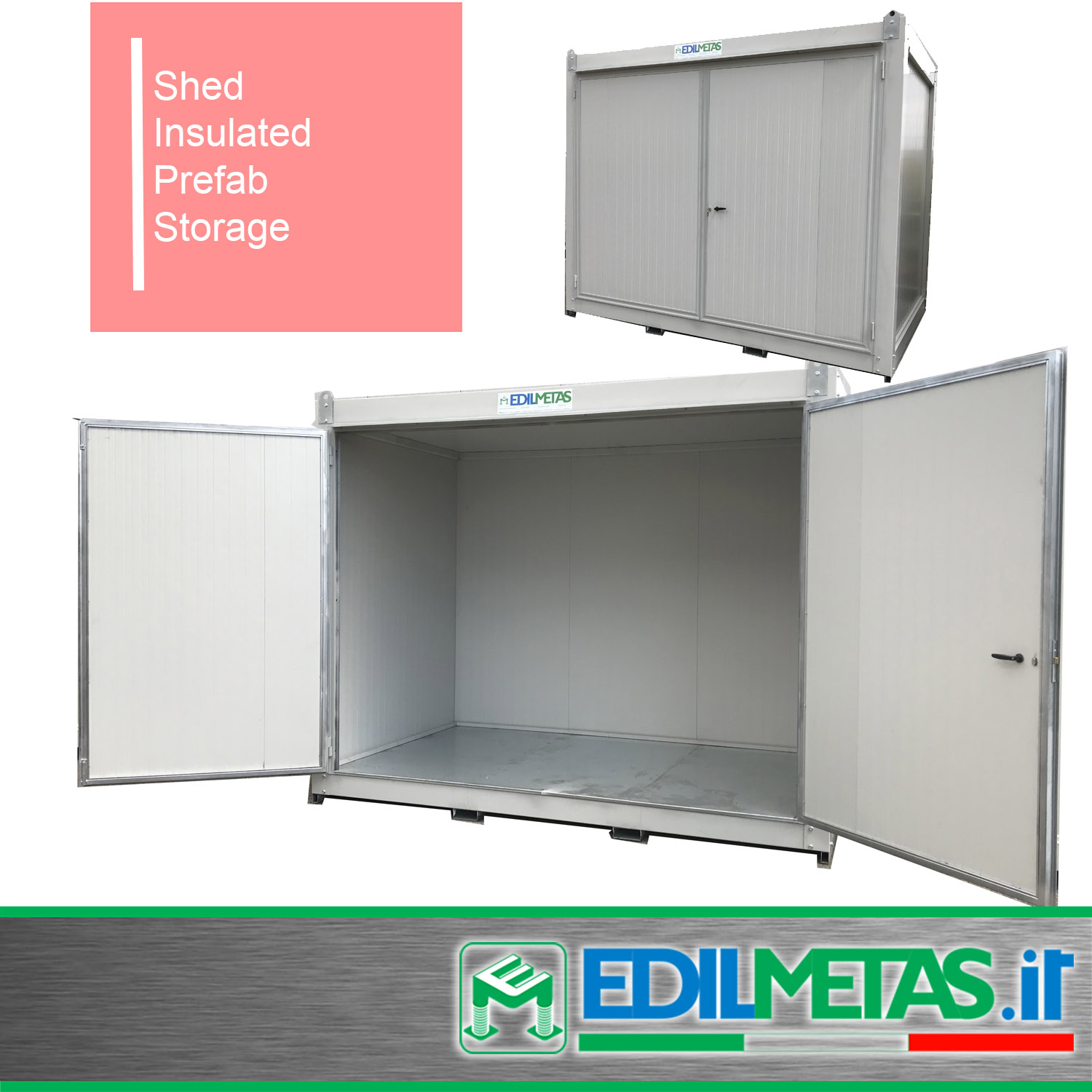 Flat pack storage unit