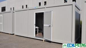 Alloggi prefabbricati con servizi igienici, dormitori prefabbricati