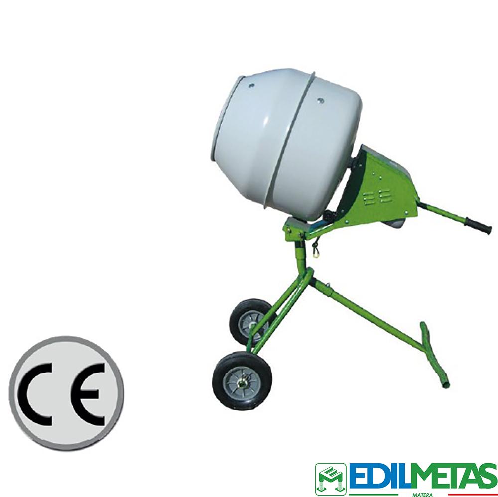 betoniera smontabile portatile certificata