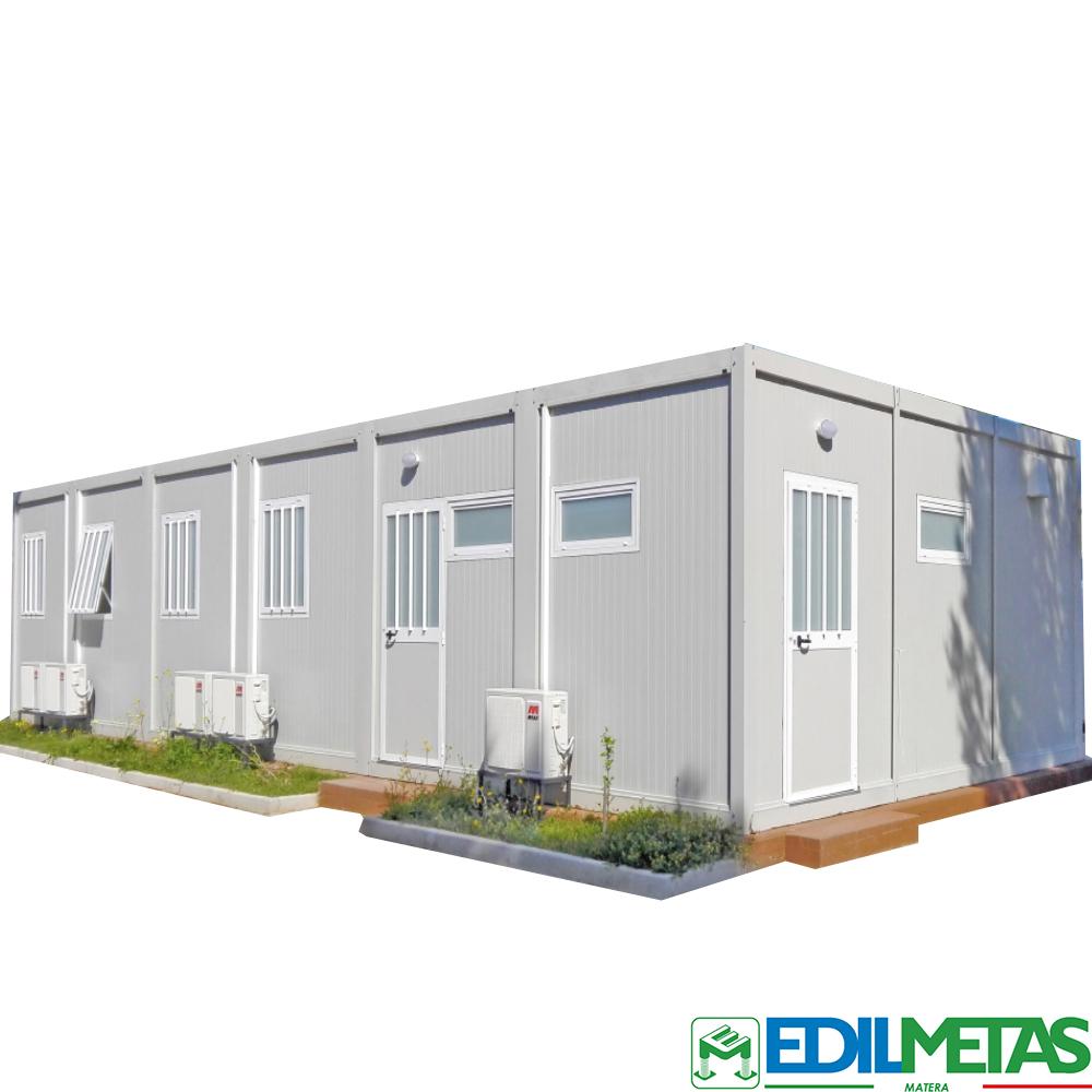 Campi da cantiere alloggi operai uffici spogliatoi