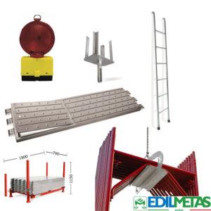 accessori per ponteggi contenitori