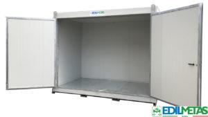 Deposito prefabbricato coibentato container