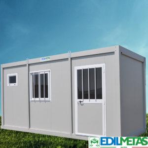 Container e monoblocchi prefabbricati coibentati modulari