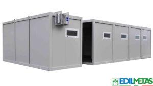 Container modulari per uffici, spogliatoi, alloggi