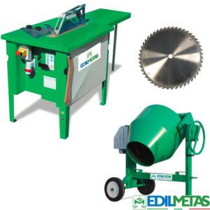 macchine per edilizia segatrici per legno