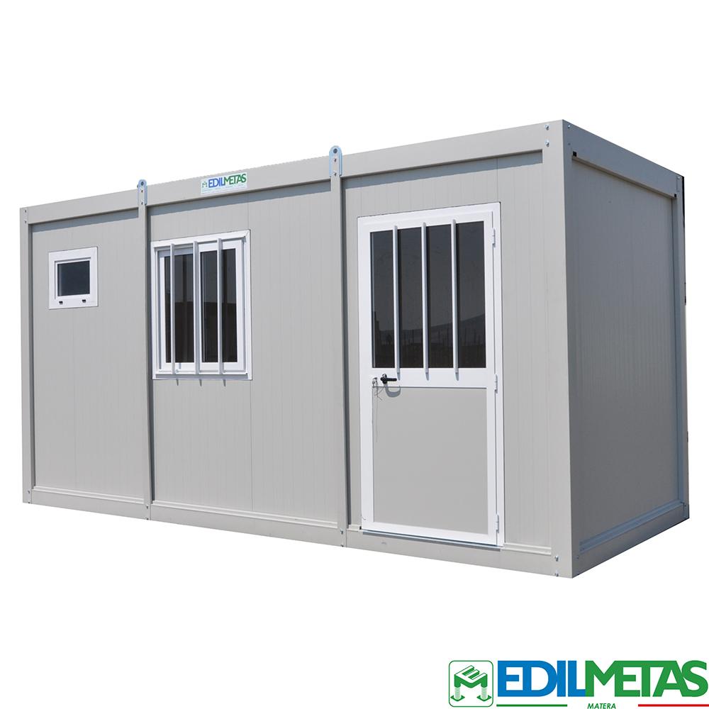 Container monoblocco prefabbricato coibentato
