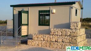 ufficio prefabbricato guardianina