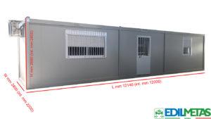 prefabbricato container ad uso abitativo