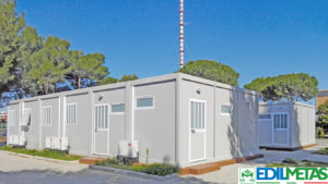 uffici campi prefabbricati modulari