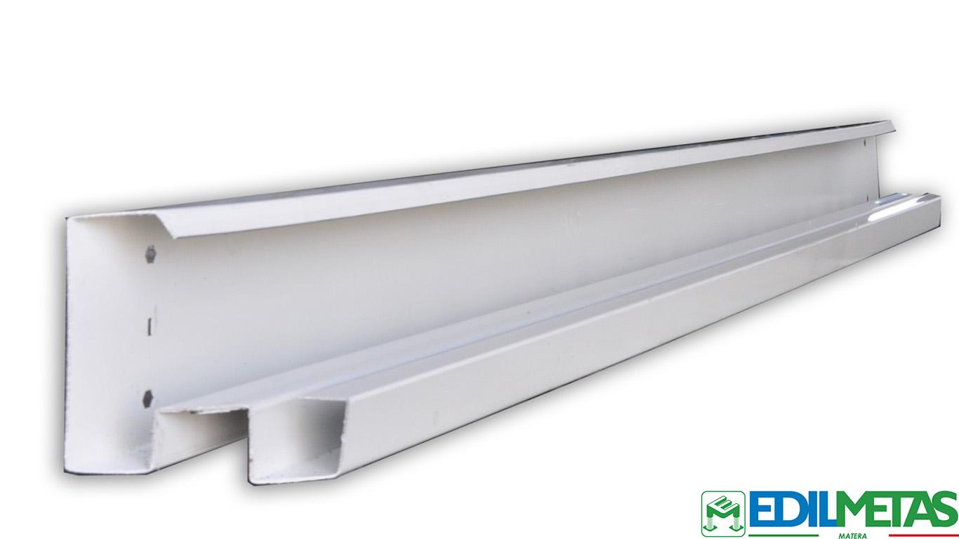 profilo per monoblocchi prefabbricati coibentati metallici, container e costruzioni modulari