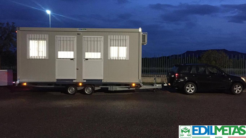 caravan ufficio personalizzabile ufficio mobile su ruote