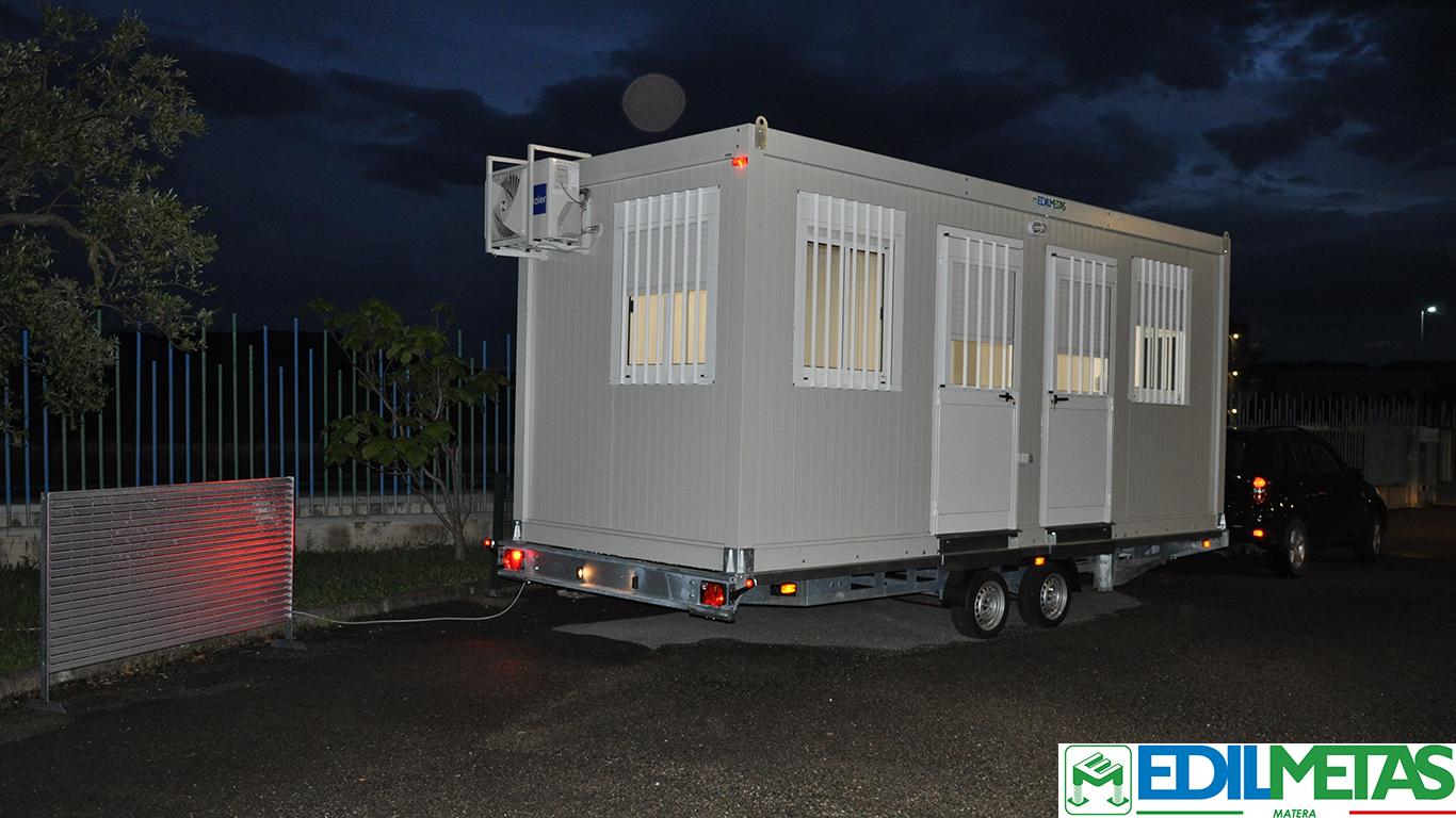 casa ufficio mobile su ruote roulotte omologata e targabile caravan personalizzabile