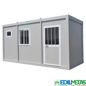 insulated prefabricated portable office container modular flat pack